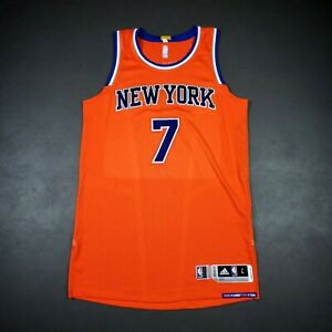 """100% Authentic Carmelo Anthony 2014 Knicks Game Jersey Size L+2"""" Mens"""