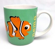MINT New Disney Pixar NEMO Clownfish LRG 16 oz MUG CUP Puffer Starfish Friendly