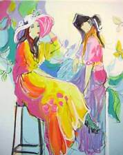 Isaac Maimon Serigraph Signed & Number 245/275 With C.O.A Very Rare Art