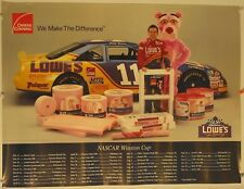 "Nascar's Brett Bodine #11, Loes's & Pink Panther Poster 1995  18"" X 24"""