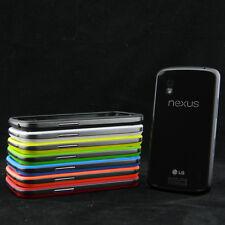 Pellicola + Custodia BUMPER PER LG E960 NEXUS 4 case cover protettiva schermo