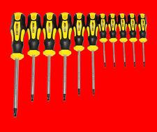 11 tlg. TORX Schraubendreher Set T6 - T40 T-Profil Schraubenzieher Mit Bohrung