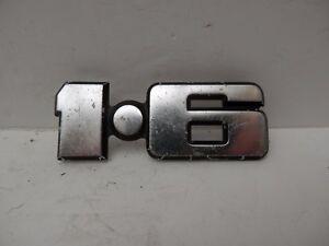 Genuine Original Classic Ford 1.6 Badge. Car Badge.