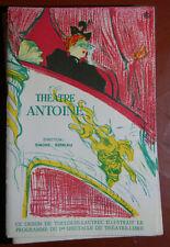 Un Programme  du théatre Antoine, 1960  le zéro et l'infini Kingsley, Pellegrin