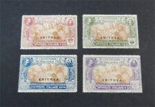 nystamps Italy Eritrea Stamp # 65-68 Mint OG H $40   N27x3074