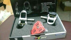 New Ritchey WCS Peloton Clipless Road Bike Pedal Set NIB
