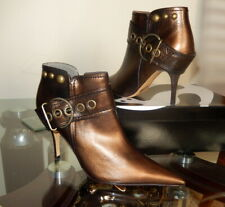 Stunning Leather Ankle Boots.
