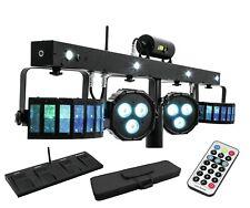 Eurolite LED KLS Laser Bar FX SET Lichtanlage Fernbedienung Derby Strobe Laser