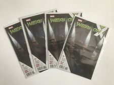 WEAPON X #7 Lot Set Of 4 WEAPON H APP FIRST PRINT MARVEL COMICS NM+ Lots Of Pics