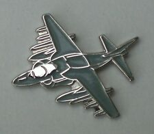 Harrier Jump Jet RAF Aeroplane Enamel Pin Badge