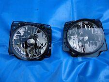 Black Magic Faros Transparentes VW Golf 2 II Tintados de Negro Jetta 2 II Negro