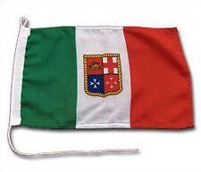 BANDIERA NAUTICA ITALIANA 40x60CM IN STAMIGNA POLIESTERE PESANTE GOMMONE BARCA