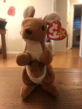 Ty Beanie Baby Pouch the Kangaroo  DOB 11-6-96 MWMT