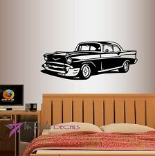 Vinyl Decal Retro Old Classic Car Vintage Collection Garage Wall Sticker 492