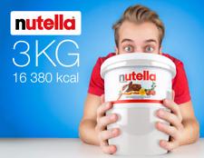 Nutella Ferrero Hazlenut Chocolate Cocoa Spread 3kg Tub Made in Italy