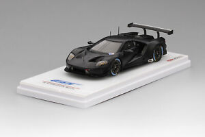 TSM430110: 1/43 Ford GT GTE Test Car Carbon Fiber Black 2016 Limited Edition 300