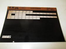 Kawasaki KE250 - B Series Parts List Micro Fiche