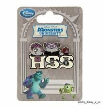 New Disney Store Monsters University Fraternity Collector Pin HSS Eta HIss HIss