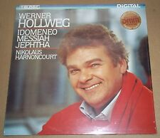 Werner Hollweg/Harnoncourt IDOMENEO/MESSIAH/JEPHTHA - Teldec 6.43064 AZ SEALED