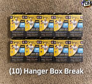 BALTIMORE RAVENS - 2020 Panini Select Football (10) Hanger Box Card Live Break