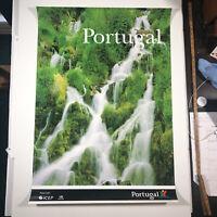 "Portugal Expo '98 VTG Poster 38.5""x 26.5"" Portugal Themed Art Glossy Nascente"