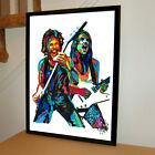 Rudolf Schenker Matthias Jabs Scorpions Rock Music Poster Print Wall Art 18x24