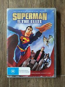 Superman Vs The Elite (DVD) X-Rental Region 4