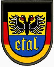 Wappen von Ettal Aufnäher ,Pin, Aufbügler