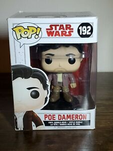 Funko Pop Star Wars Poe Dameron #192 Vinyl Figure