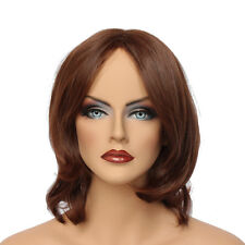 Classic Cap women Synthetic straight Short Copper Red full wig HengFeng SHL14
