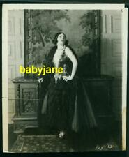 POLA NEGRI VINTAGE 8x10 PHOTO SEXY GOWN 1926 GOOD AND NAUGHTY