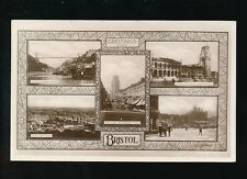 Gloucestershire Glos BRISTOL M/view RP PPC Used 1929 with PUC stamp