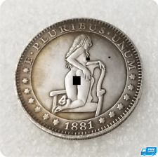 1881 Sexy Girl Morgan Dollar Hobo Coin T8 for Collectors Commemorative Coins