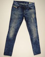 DIESEL Jeans 'LIVY 008QY_STRETCH SUPER SLIM STRAIGHT' W27 L30 RRP $389 Womens