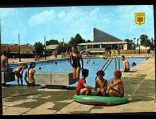 PLEAUX (15) PISCINE de la MAISON de VACANCES trés animée en 1974