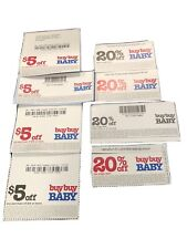 Buy Buy Baby Coupons! 4 $5 off $15 purchase and 4 20% off one item