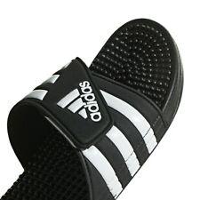 Mens Adidas Adissage Black Slides Shower Sandals Athletic Sport F35580 Size 6-13