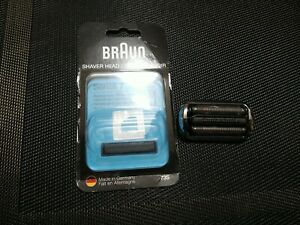 Braun Series 7 73S Electric Shaver Head Replacement - Silver - Compatible with