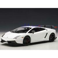 AUTOART LAMBORGHINI GALLARDO LP570 SUPERTROFEO STRADALE 1/18 WHITE 74693