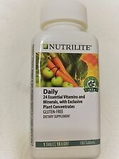Nutrilite Gluten-free Daily Multivitamin 180 Tablets (Brand New Sealed)