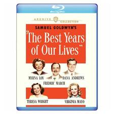 The Best Years of Our Lives 1946 (Blu-ray) Myrna Loy, Fredric March New!