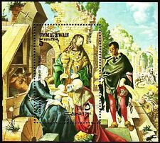 Umm al Qiwain 1972 ** Bl.35 A Gemälde Paintings Dürer