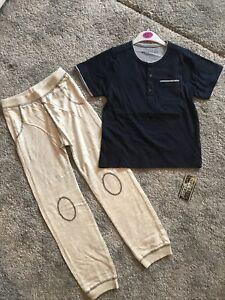 New Boys Pyjamas 6-7 Yrs BNWT Boys Clothing Nightwear Pjs Navy Gift Sleep