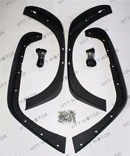 Per 07-17 Jeep Wrangler JK Stubby Roccia Crawler Metallo Anteriore + Fender
