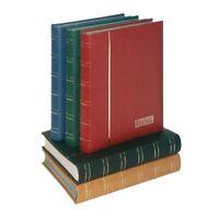 Lindner 1180 - B Einsteckbuch Elegant Nubuk-blau