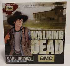 The Walking Dead Carl Grimes Mini Bust By Gentle Giant New IN Box