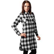 Vestiti da donna a scacchi, quadretti in cotone