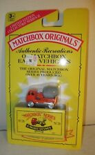 1993 Matchbox Originals Limited Repro MOC ERF Cab Cement MIxer #26 Tyco Toys