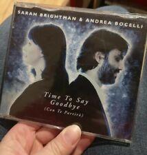 SARAH BRIGHTMAN & ANDREA BOCELLI - TIME TO SAY GOODBYE CD Single