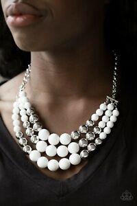 Paparazzi Accessories Wholesale Lot ~ 11pc White Necklace Bracelet Ear Ring NWT